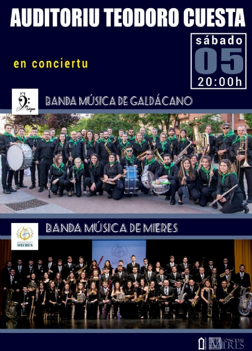 5th, May, 2018. Concert of the Wind Orchestra of Mieres