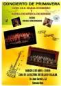 1st, April, 2017. Concert of the Wind Orchestra of Mieres